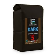 Mountain View Coffee Fair Trade Dark Ground Coffee, 1 lb, 6/Pack (FTDG1C)