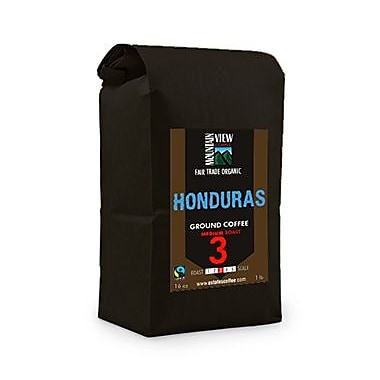Mountain View Coffee Fair Trade Honduras Ground Coffee, 1 lb, 6/Pack (FTHOG1C)