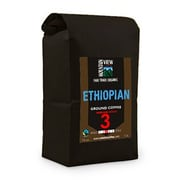 Mountain View Coffee Fair Trade Ethiopian Ground Coffee, 1 lb, 6/Pack (FTETG1C)