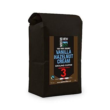 Mountain View – Café équitable moulu, crème vanille noisette, 1 lb, 6/paquet (FTVHCG1C), 6/paquet (FTVHCG1C)