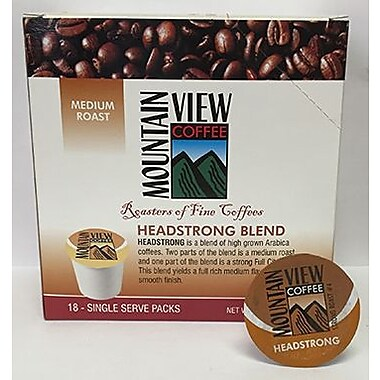 Mountain View Coffee Fair Trade Coffee Keurig Compatible Refills, 216/Pack (FTHEK)