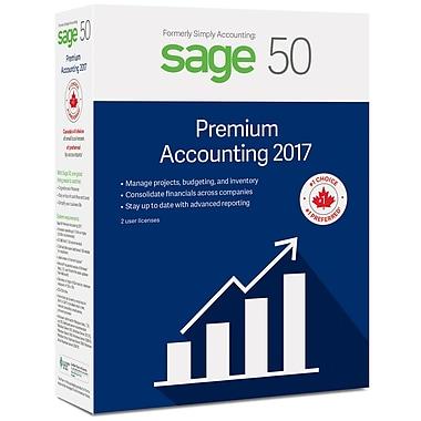 Sage 50 – Logiciel Comptabilité Supérieur 2017, bilingue