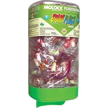 Moldex Earplug Dispenser With Sparkplugs, Corded 150/Pack (6880)