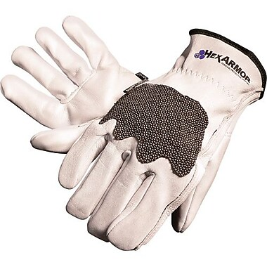 Hexarmor Glove, Cut Resistant, Steel Leather Iii, Size Small (5033-S)