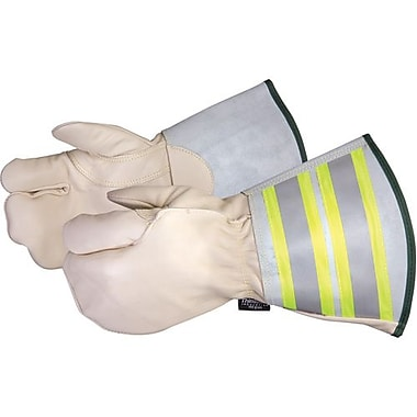 Superior Glove, Works Ltd. Glove, Lineman 6 In Cuff, Medium (361DLXFTLM)