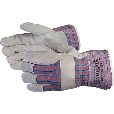 Superior Glove, Works Ltd. - Gants d'installateur Crewmate en cuir fendu, très grand, 6 paires/paquet (66 BFTLWTXL)