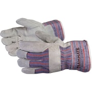 Superior Glove, Works Ltd. Gloves Crewmate Split Leather Fitters, Size XL 12Pairs/Pack (66BXL)