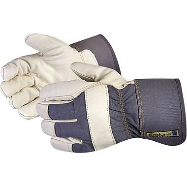 Superior Glove - Gants de travail d'hiver de cuir de vache Boa, raccords doublés, grand, 12 paires/paquet (76 BoA)