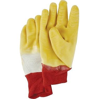 Showa Best Glove, Rubber/NitrileDip Knit Wrist 12 Pairs/Pack (2911-10)