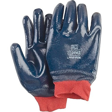 Showa Best Glove, Nitrile Smooth, Size 8 Palmcoated Safety Cuff 12Pairs/Pack (7066-08)