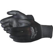 Superior Glove, Works Ltd. Glove, String Knit PoLycoated Black, 60 Pairs/Pack (S13BKPUQ-11)