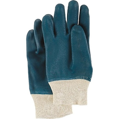 Showa Best Glove, Cannonball PVC Glove, Knit Wrist, 24 Pairs/Pack (803-10)