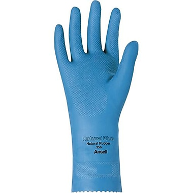 Ansell Glove, Latex, Unlined, 17MiL, 1