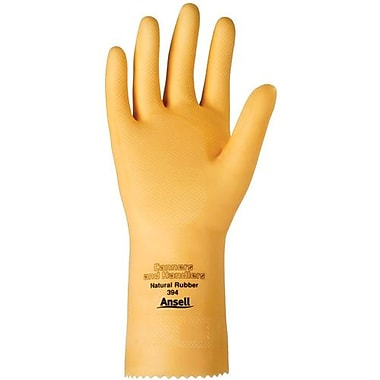 Ansell Glove, Latex, 20 Mil, 1