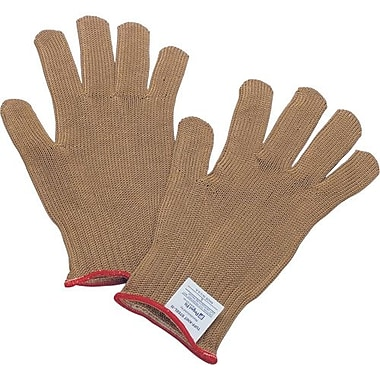 Perfect Fit-Honeywell Gloves Tuff knit Steel Cord Gold, Size XLarge 6/Pack (KV5SS-XL)