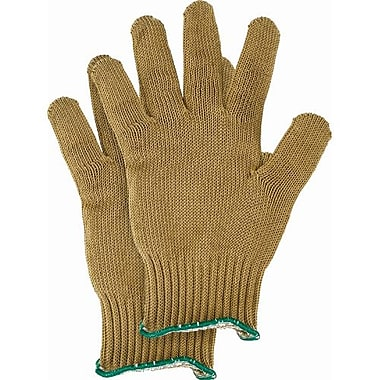 Perfect Fit-Honeywell Gloves Tuff knit Steel Cord Gold, Medium 6/Pack (KV5SS-M)