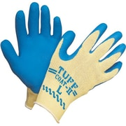 Gants Tuff-Coat en Kevlar avec paume et doigts en caoutchouc, moyen, 12 paires/pqt (KV300-M)