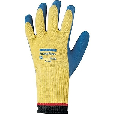 Ansell Glove, Kevlar Liner, LatexPalm, Crinkle, Finish, 7, 6 Pairs/Pack (103501)