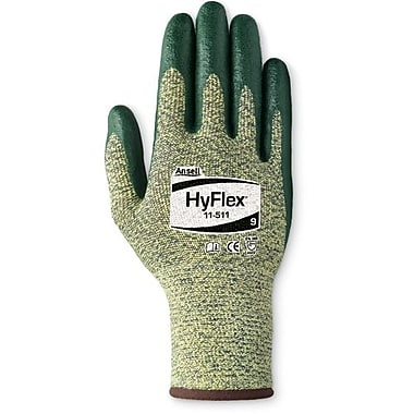 Ansell Glove, Kevlar, Spandex Ss, Foam Nitrile Palm, Gr, Size 6, 6 Pairs/Pack (103418)