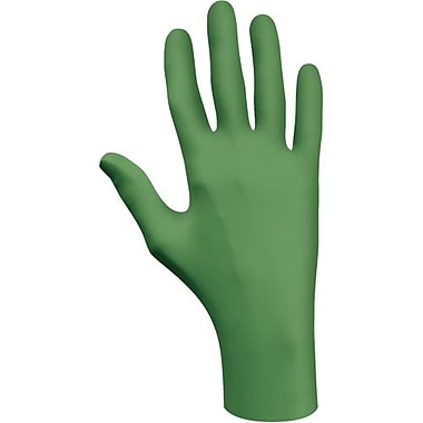Showa Best Nitrile Glove, 6110Pf Biodegrade, Pf Green, Size L 1000/Pack (6110PF-L)