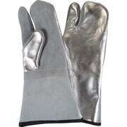 Gants Laurentide – Gant résistant à la chaleur, endos en aluminium, 1 doigt, 3 paires/pqt (14040)