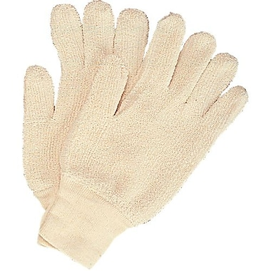 Superior Glove Works Ltd. – Gants en tissu éponge 24 oz, poignets cousus, grand, 48 paires/pqt (TRK3)