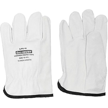 Salisbury by Honeywell Gloves Protector Volt Goatskin Fits, Size 7&7.5, 2 Pairs/Pack (ILPG10/7)