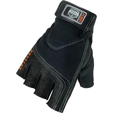 Ergodyne – Gants demi-doigts de protection contre les impacts 901, petit, 2 paires/pqt (17032)