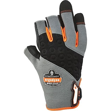 Ergo dyne Gloves 720 Heavy-Duty Framing, Large, 2 Pairs/Pack (17114)