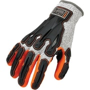 Ergodyne – Gants 922CR à réduction d'impact du dos de la main de niveau 5, 2 paires/paquet (17096)