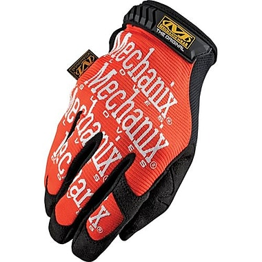 Mechanix Wear – Gants Mechanix Original, orange, grand / 10, 3 paires/pqt (MG-09-010)
