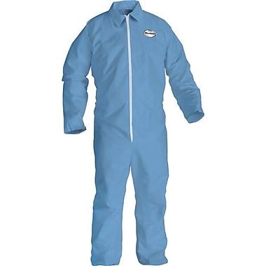 Kimberly-Clark – Combinaison Kleenguard A65 bleu avec fermeture à glissière, 2TG, 10/paquet (45315)