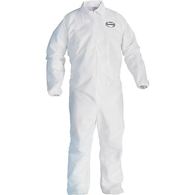 Kimberly-Clark – Combinaison Kleenguard A40, blanc, élastique, 4T grand, 12/paquet (44317)
