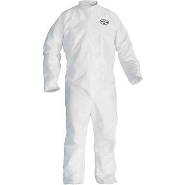 Kimberly-Clark – Combinaison avec fermeture à glissière à l'avant, Kleenguard A45, blanc, moyen, 12/paquet (41484)