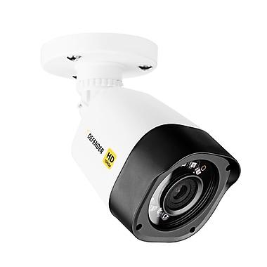 DefenderMD – Caméra de sécurité compacte d'intérieur et d'extérieur HD 1080p, longue portée, vision nocturne