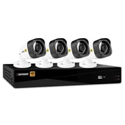 Defender® HD 1080p 4 Channel 1 TB Security DVR and 4 Bullet Cameras, with Mobile Viewing (HD1T4B4)