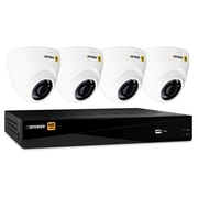 Defender® HD 1080p 8 Channel 1 TB Security DVR and 4 Dome Cameras, Mobile Viewing (HD1T8D4)