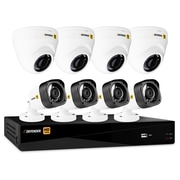 Defender® HD 1080p 8 Channel 1 TB Security DVR and 4 Dome and 4 Bullet Cameras with Mobile Viewing (HD1T8D4B4)