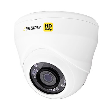 Defender® HD 1080p Dome Security Camera, Indoor/Outdoor, Long Range, Night Vision (HDCD1)