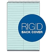 """TOPS Prism Steno Pads, 6"""" x 9"""", Gregg, Blue, 80 Sheets/Pad, 4 Pads/Pack (TOP 80284)"""