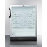 Summit Appliance 26 Bottle Single Zone Freestanding Wine Refrigerator