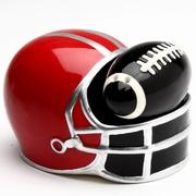 CosmosGifts Football and Helmet 2 Piece Salt and Pepper Set