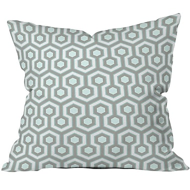 Freeport Park Icicle Outdoor Throw Pillow; 26'' H x 26'' W x 5'' D