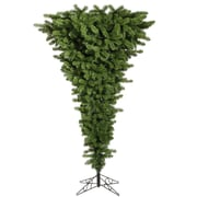 Vickerman Colorful Upside Down 5.5' Green Artificial Christmas Tree