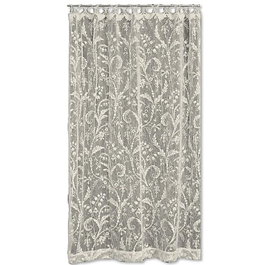Heritage Lace Coventry Single Curtain Panel; 45'' W x 63'' L