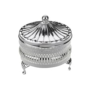 Corbell Silver Company Queen Anne 2 Piece Round Butter Dish