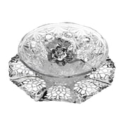 Corbell Silver Company Queen Anne Royal Party Dish w/ Spoon