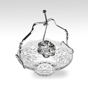 Corbell Silver Company Queen Anne Royal Party Dish w/ Spoon and Handle