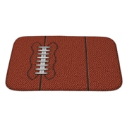 Gear New Soccer w/ Highly Detailed of American Football Bath Rug; Large