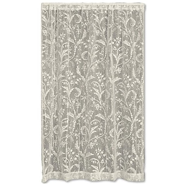 Heritage Lace Coventry Single Curtain Panel; 45'' W x 84'' L